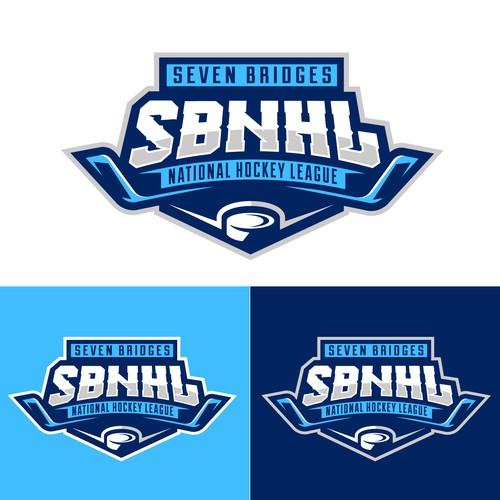 bold hockey league logo