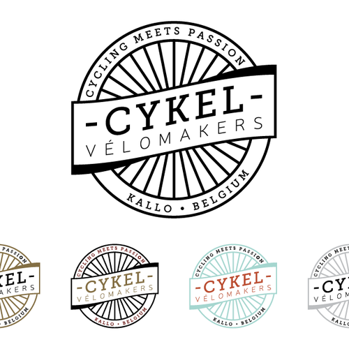 Cykel Vélomakers Identity Design