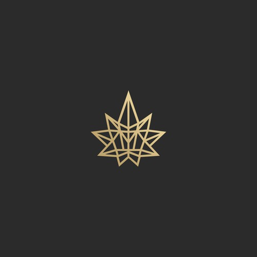 logo design for luxe leaf