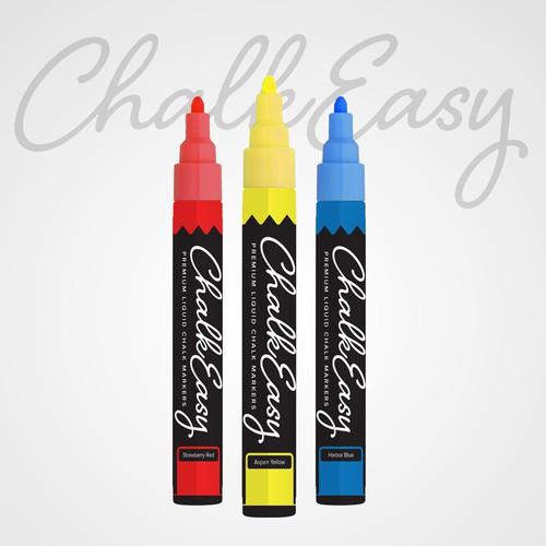 Liquid Chalk Marker Label for ChalkEasy