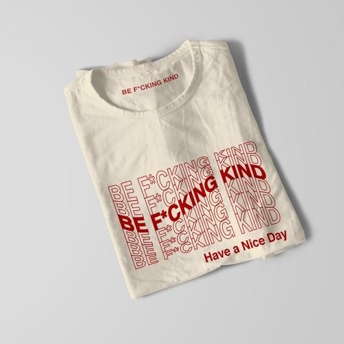 Fun t-shirt design for clothing company