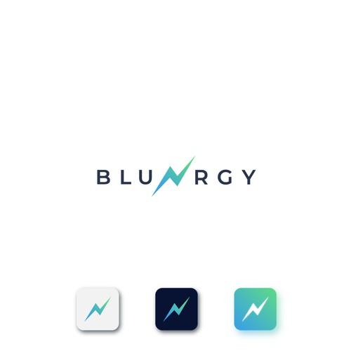 Logo design for BluNrgy