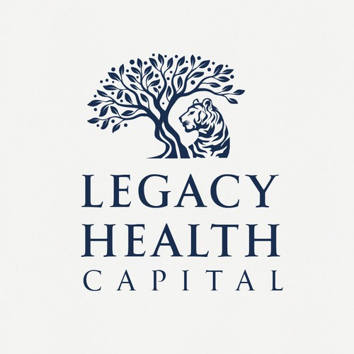Tree an Tiger Logo For Legacy Health Capital