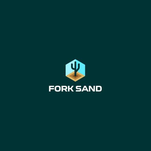 Bold logo for ForkSand