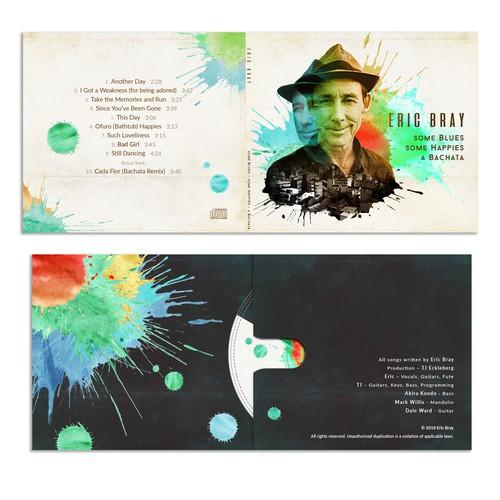 CD Cover Design for Eric Bray