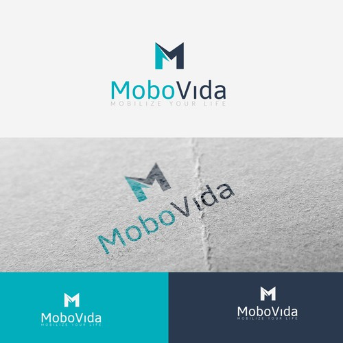 A progressive logo and brand package for a mobile device accessory brand