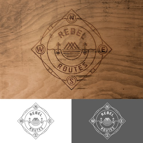 LOGO FOR REBEL ROUTES