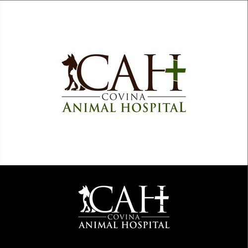 Re-create a logo for an Animal Hospital