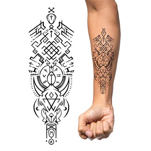 Slavic pagan Tattoo design