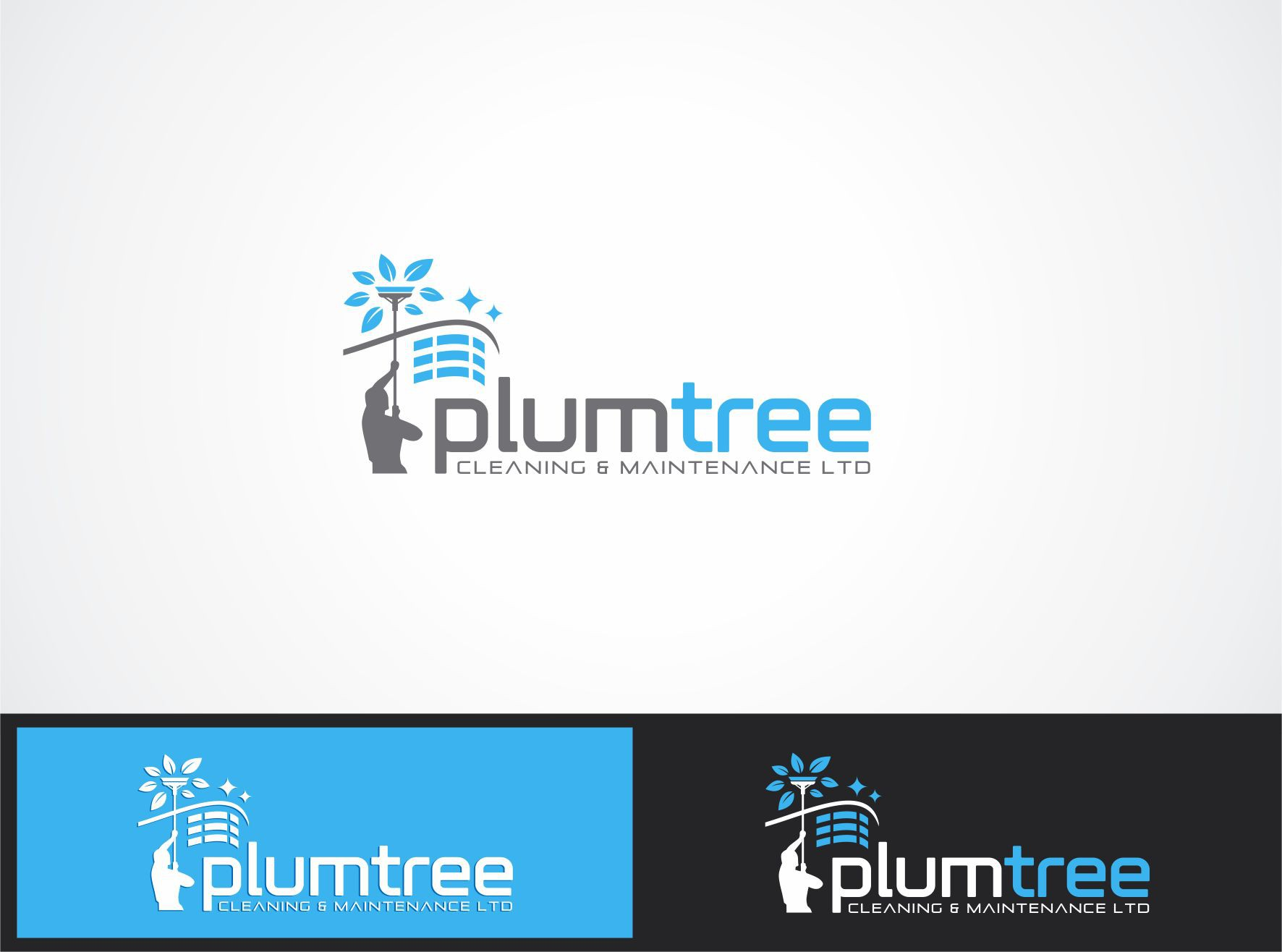 Create the next logo for Plumtree Cleaning & Maintenance Ltd