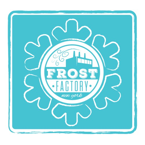 Frosty cold logo for Dessert Business