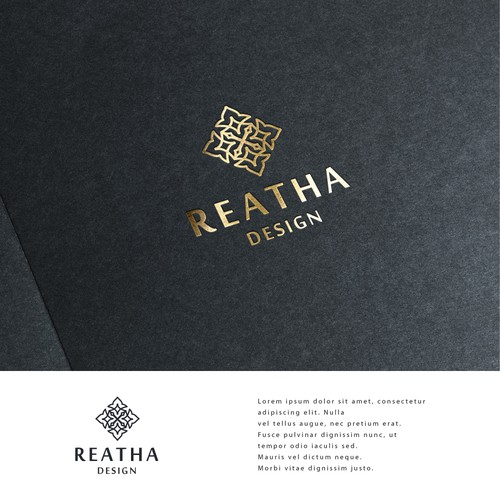 Logo design for Reatha Design