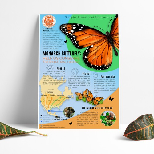 Poster design concept, for natural conservation
