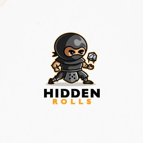 Dice Ninja Mascot
