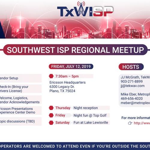 TxWISP meetup Flyer