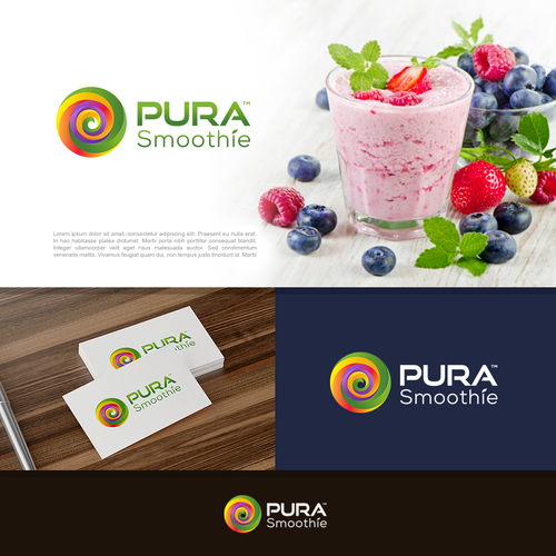 Logo for Pura Smoothie