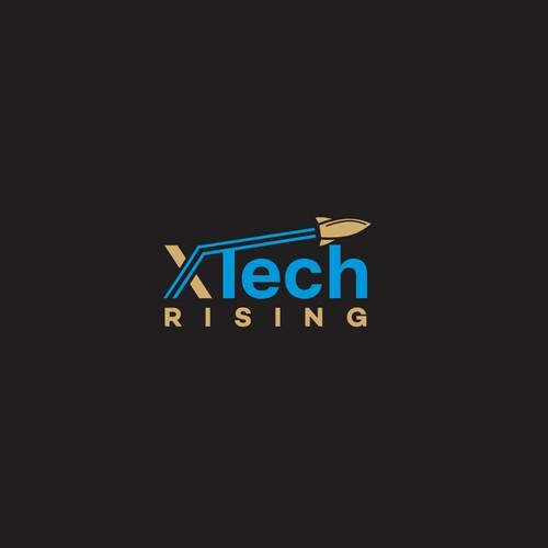 XTECH RISING LOGO