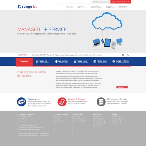 Guaranteed website design needed for ICT Solutions Company