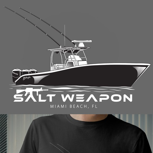 SALT WEAPON T-SHIRT DESIGN