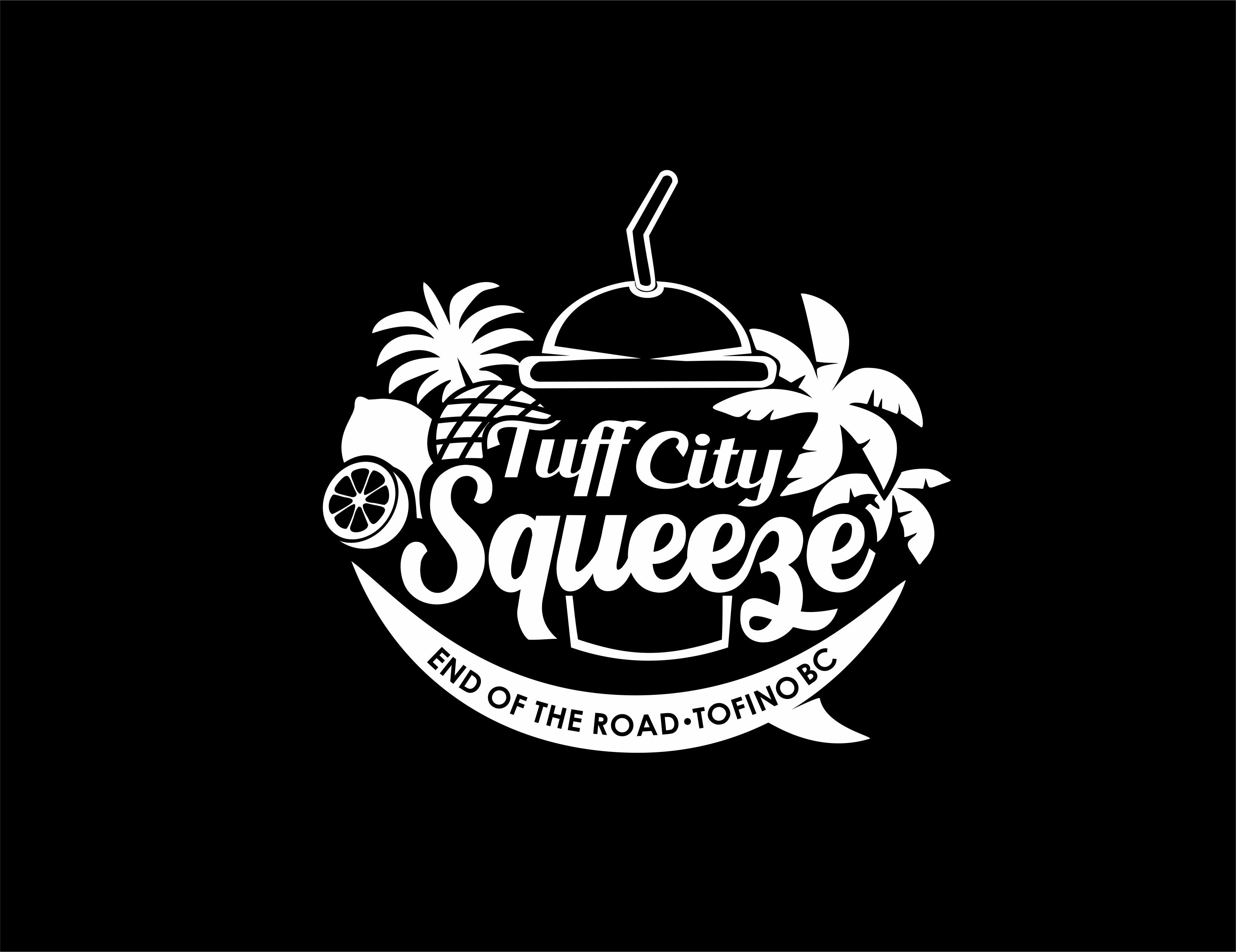 Logo for a new juice bar in tofino bc