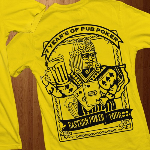 Poker T shirt Design