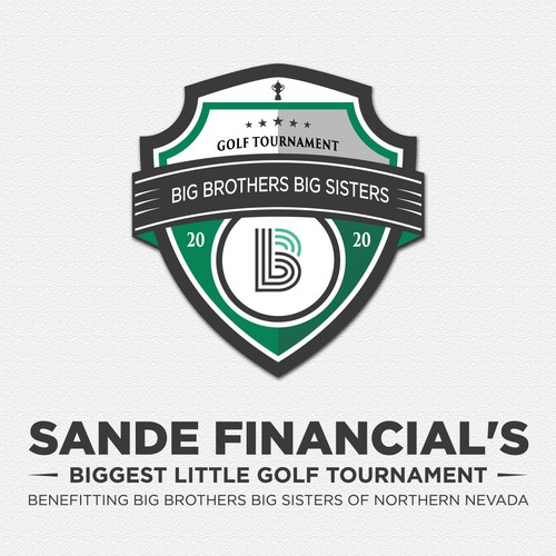 logo golf for Sande Financial's Biggest Little Golf Tournament