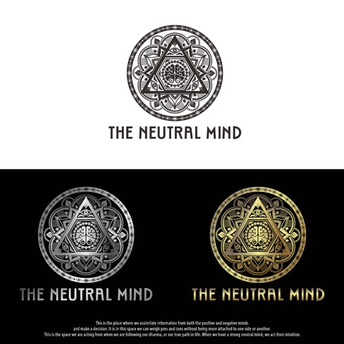 Logo concept for THE NEUTRAL MIND Band