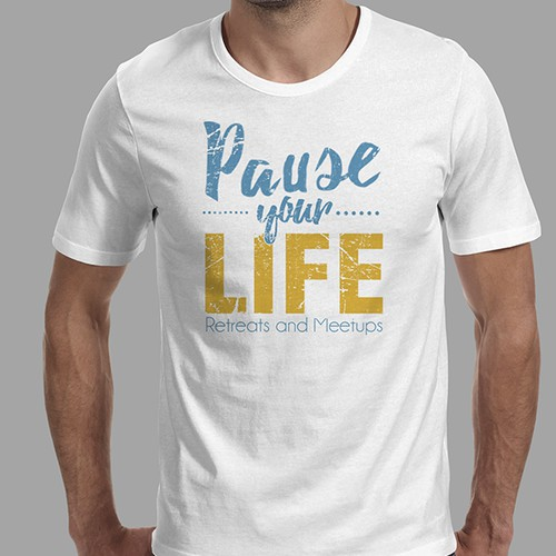 "Shirt to Be Given to Celebrities Who Meditate - ""Pause Your Life"""
