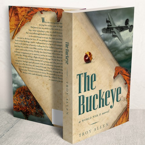 Novel Cover for WWII Historical Fiction