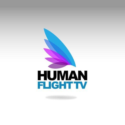 Help Human Flight TV with a new logo