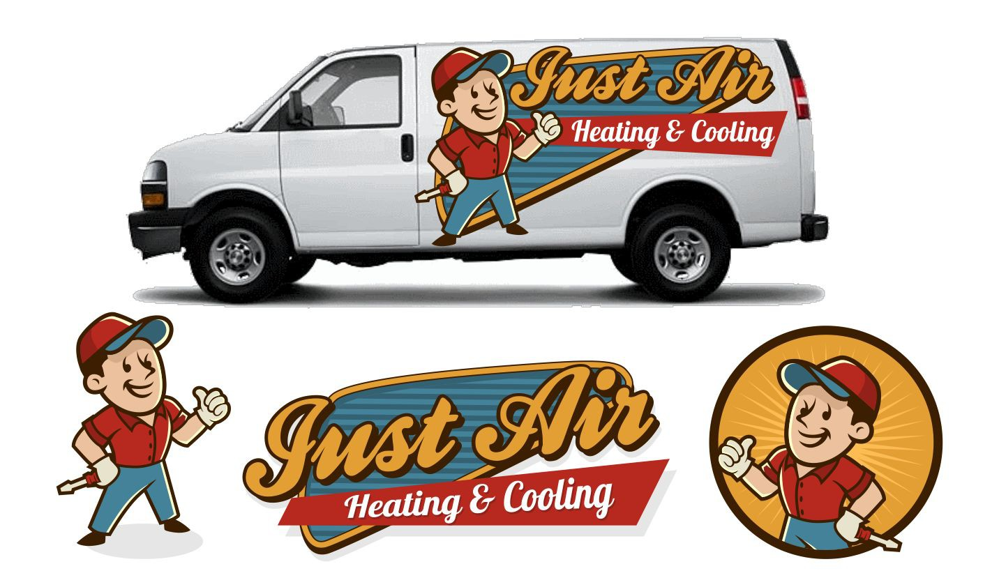 Help Just Air Heating & Cooling with a new logo