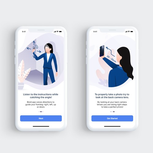 Illustrations for VoloCare App