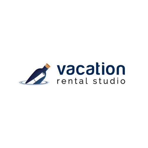 vacation rental studio | logo design
