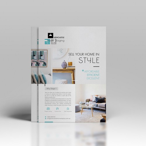 Home Staging Double-sided Flyer