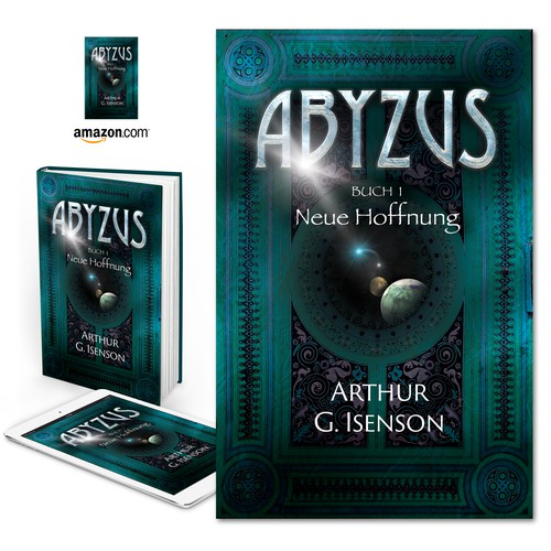 "Book cover for ""Abyzus"" by Arthur G. Isenson"