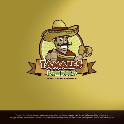 Tamales Don Polo Logo