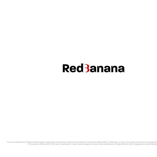 wordmark banana