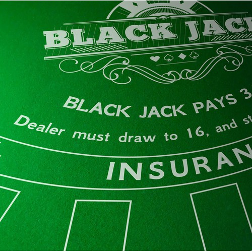 Black Jack game pad