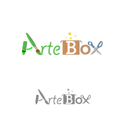 Logo concept for ArteBox