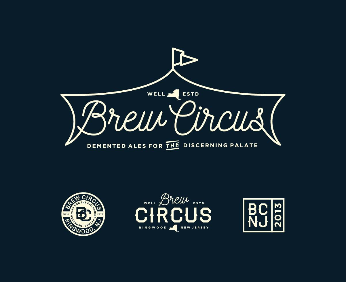 Brew Circus Supplemental Abstract Logo