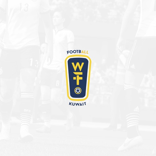 Logo concept for women football tournament