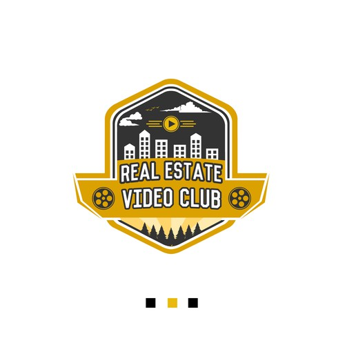 LOGO FOR REAL ESTATE VIDEO CLUB