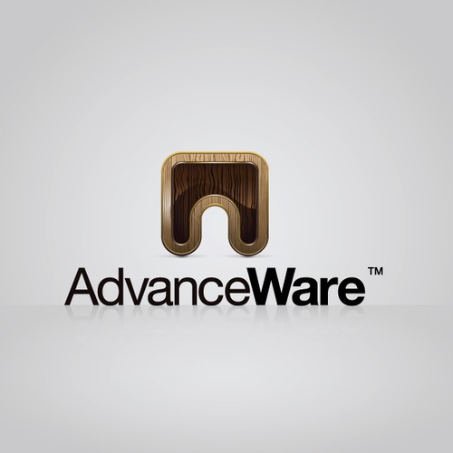 Logo concept for AdvanceWare.