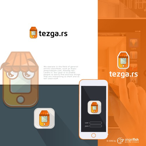 Logo proposal for Tezga.rs