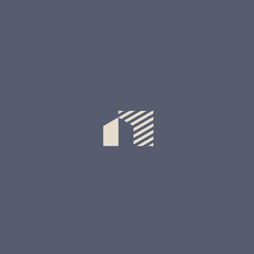 Apartement logo concept