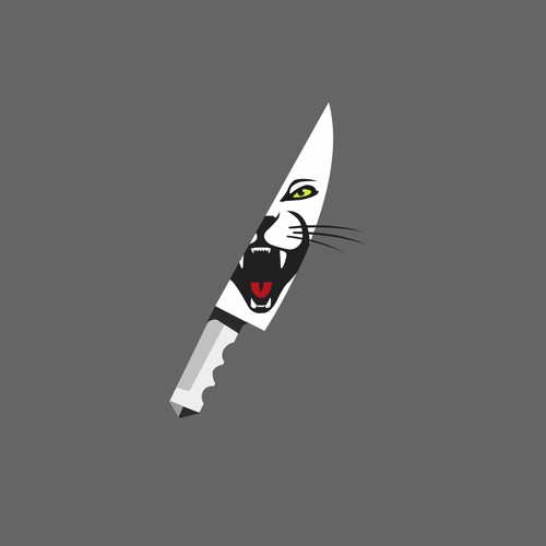 Logo design for Twitch gamer KittyHouseKnife