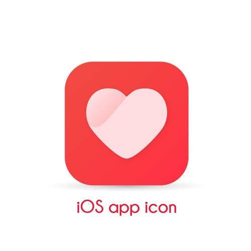 Unique and Clean Heart app icon