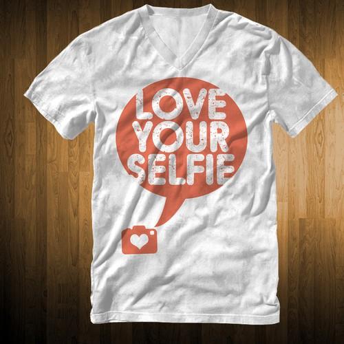 Love Yourselfie T-shirt design