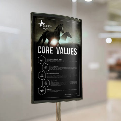 Energy Equine Core Values Project