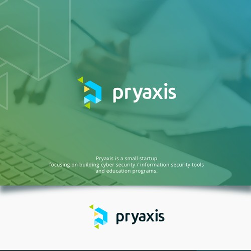 Logo concept for pryaxis
